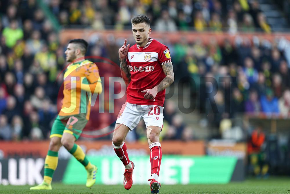 Jamie Paterson of Bristol City - Mandatory by-line: Arron Gent/JMP - 23/02/2019 - FOOTBALL - Carrow Road - Norwich, England - Norwich City v Bristol City - Sky Bet Championship