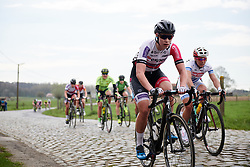 Nathalie Bex (GBR) at Brabantse Pijl 2018, a 136.8 km road race starting and finishing in Gooik on April 11, 2018. Photo by Sean Robinson/Velofocus.com