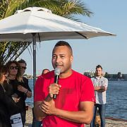 NLD/Amsterdaml/20180902 - Everon Jackson Hooi Lanceert boxerliijn  IAMTORO,  Everon Jackson Hooi