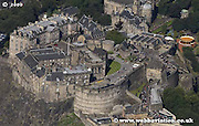aerial photograph of Edinburgh Castle Scotland