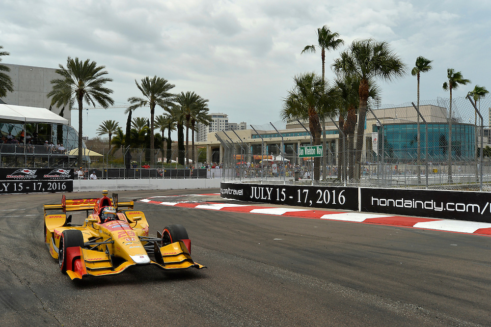 11-13 March, 2016, St Petersburg, Florida USA<br /> 28 Ryan Hunter-Reay<br /> &copy;2016 Scott R LePage <br /> LAT Photo USA