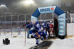 03.01.2015, Klagenfurter Wörthersee Stadion, Klagenfurt, AUT, EBEL, EC KAC vs EC VSV, 35. Runde, in picture  Darren Haydar (EC VSV, #23) during the Erste Bank Icehockey League 35. Round between EC KAC and EC VSV at the Klagenfurter Wörthersee Stadion, Klagenfurt, Austria on 2015/01/03. Photo by Matic Klansek Velej / Sportida