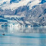 Boat in Glacier Bay