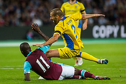 Alvaro Brachi of NK Domzale during 2nd Leg football match between West Ham United FC and NK Domzale in 3rd Qualifying Round of UEFA Europa league 2016/17 Qualifications, on August 4, 2016 in London, England.  Photo by Ziga Zupan / Sportida