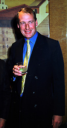 Trainer MR KIM BAILEY, at a party in London on 6th October 1999.MXG 33