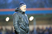 Keith Hill during the Sky Bet League 1 match between Rochdale and Port Vale at Spotland, Rochdale, England on 28 November 2015. Photo by Daniel Youngs.