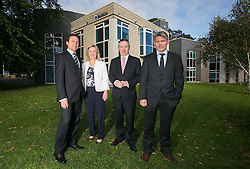 Repro Free: 25/09/2014 SoftCo, the leading Irish software technology company, has today announced the addition of up to 50 new positions - primarily in its R&amp;D, Sales and Cloud Services divisions - which will bring the total employee numbers to 120 over the next twelve months.  The company also recently opened offices in Helsinki and Cork. <br /> The expansion reflects strong international demand for its Business Process Automation solutions and the successful rollout of its &lsquo;revolutionary&rsquo; health insurance Claims Management Solution, SoftCo eClaims.  SoftCo also secured a number of new Healthcare deals including Alliance Medical, Beacon Hospital, Whitfield Clinic and Providence Hospital in Columbia, South Carolina.<br /> Pictured at the announcement are (l-r); Mr. Anton Scott, Managing Director, SoftCo, SoftCo Chairman, Ms. Susan Spence, Mr. Martin Degnan, Financial Controller, Alliance Medical and Mr. David Beirne, Chief Financial Officer, Whitfield Clinic. Picture Andres Poveda