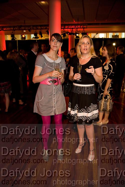 SARAH WOOD; SARAH CHURCHWELL, BBC Four Samuel Johnson Prize party. Souyh Bank Centre. London. 15 July 2008.  *** Local Caption *** -DO NOT ARCHIVE-© Copyright Photograph by Dafydd Jones. 248 Clapham Rd. London SW9 0PZ. Tel 0207 820 0771. www.dafjones.com.