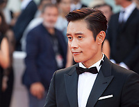 Lee Byung Hun at the premiere gala screening of the film Roma at the 75th Venice Film Festival, Sala Grande on Thursday 30th August 2018, Venice Lido, Italy.