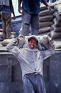 Labourer, Jakarta Docks, Indonesia.