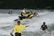 Morlon, une petite presqu'&icirc;le de au bord du lac de Gruy&egrave;re, accueille les Championnats Suisse de Jet Ski avec course de vitesse et une &eacute;preuve de triathlon combinant une course d'endurance en jet-ski, du kayak et un parcours d'obstacles.  &copy; Romano P. Riedo | fotopunkt.ch<br /> Morlon, une petite presqu'&icirc;le de au bord du lac de Gruy&egrave;re, accueille les Championnats Suisse de Jet Ski avec course de vitesse et une &eacute;preuve de triathlon combinant une course d'endurance en jet-ski, du kayak et un parcours d'obstacles.  &copy; Romano P. Riedo | fotopunkt.ch