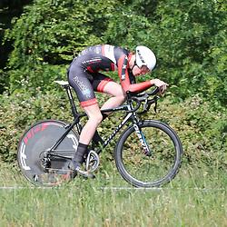 21-06-2017: Wielrennen: NK Tijdrijden: Montferlands-Heerenberg (NED) wielrennen  <br />Enzo Leijnse (Amstelveen) pakt brons