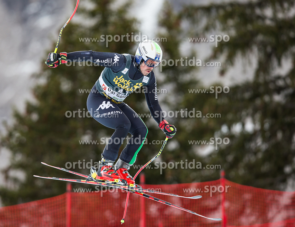 18.12.2013, Saslong, Groeden, ITA, FIS Ski Weltcup, Groeden, Abfahrt, Herren, 1. Traininglauf, im Bild Peter Fill (ITA) // Peter Fill of Italy in action during mens 1st downhill practice of the Groeden FIS Ski Alpine World Cup at the Saslong Course in Gardena, Italy on 2012/12/18. EXPA Pictures © 2013, PhotoCredit: EXPA/ Johann Groder