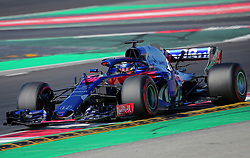 March 9, 2018 - Barcelona, Catalonia, Spain - the Toro Rosso of Brendon Hartley during the tests at the Barcelona-Catalunya Circuit, on 09th March 2018 in Barcelona, Spain. (Credit Image: © Joan Valls/NurPhoto via ZUMA Press)