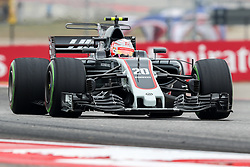 October 20, 2017 - Austin, Texas, U.S - Kevin Magnussian of Denmark (20) in action before the Formula 1 United States Grand Prix race at the Circuit of the Americas race track in Austin,Texas. (Credit Image: © Dan Wozniak via ZUMA Wire)