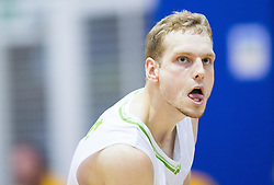 Jaka Blazic of Slovenia during friendly basketball match between National teams of Slovenia and Ukraine at day 3 of Adecco Cup 2014, on July 26, 2014 in Rogaska Slatina, Slovenia. Photo by Vid Ponikvar / Sportida.com