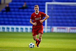 BIRKENHEAD, ENGLAND - Wednesday, November 1, 2017: Liverpool's Herbie Kane during the UEFA Youth League Group E match between Liverpool and NK Maribor at Prenton Park. (Pic by David Rawcliffe/Propaganda)