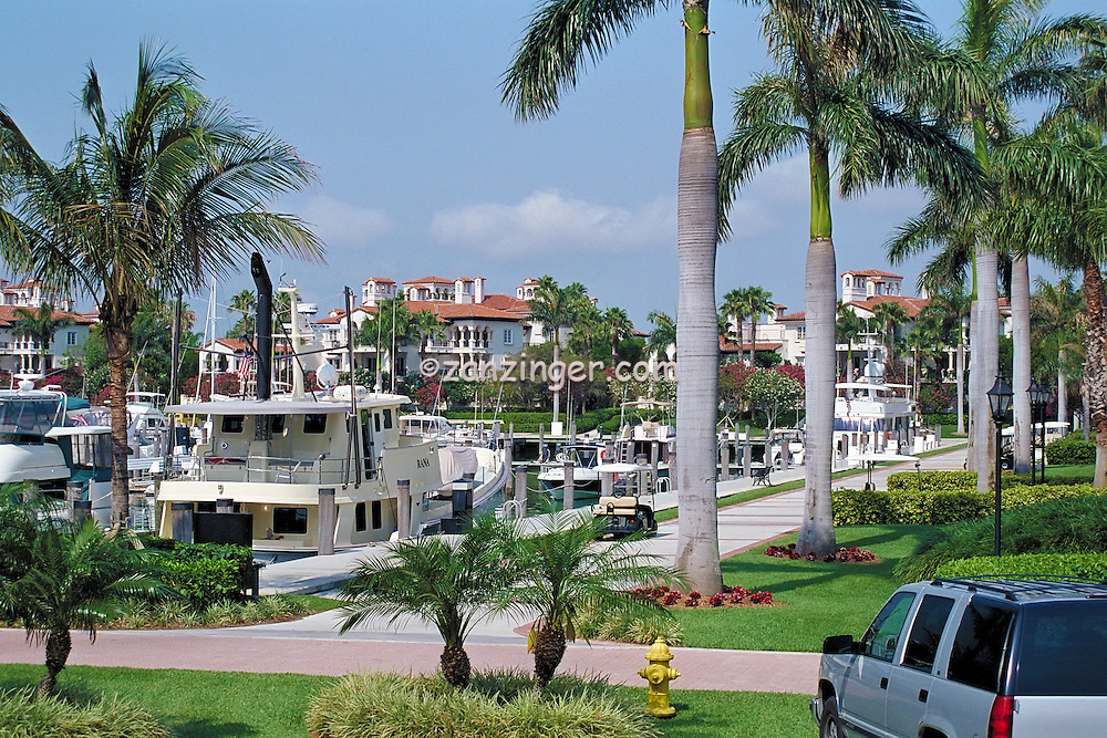 Fisher Island, Miami Florida, 62' Nordhaven Motor Yacht, Rana, Marina, Yachts, luxury condos, lifestyle, rich, famous; Miami; Florida; USA; Atlantic Coast,