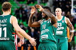Codi Miller-McIntyre of KK Cedevita Olimpija during ABA basketball league round 9 match between teams KK Cedevita Olimpija and KK Crvena Zvezda MTS in Arena Stozice, 1. December, 2019, Ljubljana, Slovenia. Photo by Grega Valancic / Sportida
