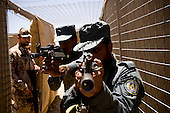 """Czech soldiers train Afghan National Police into elite """"SWAT"""" team in Logar."""
