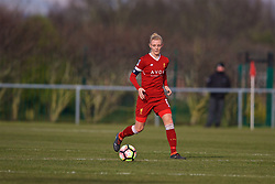 LIVERPOOL, ENGLAND - Sunday, February 4, 2018: Liverpool's captain Sophie Ingle during the Women's FA Cup 4th Round match between Liverpool FC Ladies and Watford FC Ladies at Walton Hall Park. (Pic by David Rawcliffe/Propaganda)
