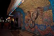 Respubliki Avenue. Shambala night club.