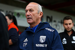 West Bromwich Albion manager Tony Pulis arrives at the Wham Stadium - Mandatory by-line: Matt McNulty/JMP - 22/08/2017 - FOOTBALL - Wham Stadium - Accrington, England - Accrington Stanley v West Bromwich Albion - Carabao Cup - Second Round