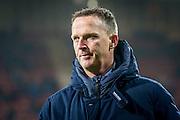 ALKMAAR - 16-02-2017, AZ - Olympique Lyon, AFAS Stadion, 1-4, AZ trainer John van den Brom, teleurstelling
