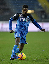 03.02.2019, Stadio Carlo Castellani, Empoli, ITA, Serie A, Empoli FC vs Chievo Verona, 22. Runde, im Bild Joseph Dimitri Oberlin in azione // Joseph Dimitri Oberlin in action during the Seria A 22th round match between Empoli FC and Chievo Verona at the Stadio Carlo Castellani in Empoli, Italy on 2019/02/03. EXPA Pictures &copy; 2019, PhotoCredit: EXPA/ laPresse/ Marco Bucco<br /> <br /> *****ATTENTION - for AUT, SUI, CRO, SLO only*****