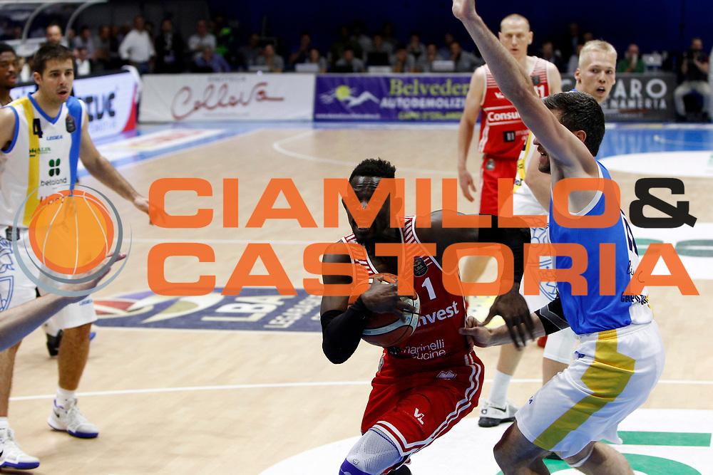 Jeremy Hazell<br />Betaland Capo D'Orlando - Consultinvest Pesaro<br />Lega Basket Serie A 2016/2017 <br />Capo D'Orlando 07/05/2017<br />Foto Ciamillo-Castoria