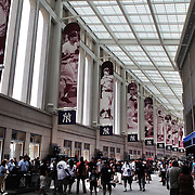 The rotunda inside Yankee Stadium before the New York Yankees V Cincinnati Reds Baseball game at Yankee Stadium, The Bronx, New York. 19th May 2012. Photo Tim Clayton