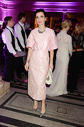 LARA BOHINC at the WGSN Global Fashion Awards held at the V&A museum, London on 30th October 2013.