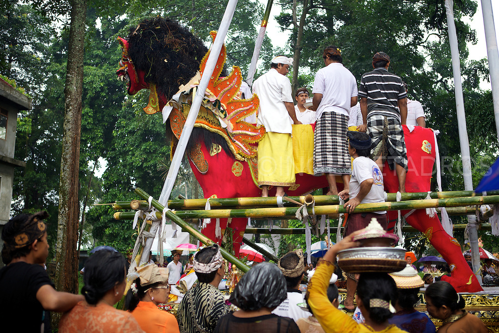 When a Balinese dies, it is believed that he must undergo certain rituals in order for his spirit to be released.<br />