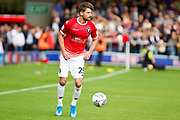 Salford City midfielder Joe Jones during the EFL Sky Bet League 2 match between Salford City and Port Vale at Moor Lane, Salford, United Kingdom on 17 August 2019.