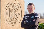 New Hibernian manager, Paul Heckingbottom, during the press conference for Hibernian FC at Hibernian Training Centre, Ormiston, Scotland on 15 February 2019.