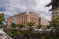 Exterior photo of office suite in 601 New Jersey Avenue in Washington DC by Jeffrey Sauers of Commercial Photographics, Architectural Photo Artistry in Washington DC, Virginia to Florida and PA to New England