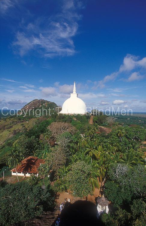 Mihintale stupa.