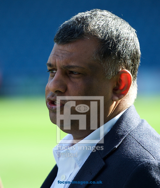 Queens Park Rangers chairman Tony Fernandes after the Barclays Premier League match at the Loftus Road Stadium, London<br /> Picture by Alan Stanford/Focus Images Ltd +44 7915 056117<br /> 16/05/2015