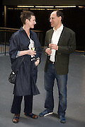 CLEMENTINE DELISS; DARREN LEADER, HBOX opening Hosted by Tate Modern and Hermes.  Turbine Hall. London. 3 July 2008.  *** Local Caption *** -DO NOT ARCHIVE-© Copyright Photograph by Dafydd Jones. 248 Clapham Rd. London SW9 0PZ. Tel 0207 820 0771. www.dafjones.com.