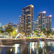 Hargreaves Associates & Schmidt Design Group - Waterfront Park, San Diego California
