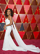 04.03.2018; Hollywood, USA: <br /> <br /> JANET MOCK arrives on the Red Carpet to attend the 90th Annual Academy Awards at the Dolby&reg; Theatre in Hollywood.<br /> Mandatory Photo Credit: &copy;AMPAS/Newspix International<br /> <br /> IMMEDIATE CONFIRMATION OF USAGE REQUIRED:<br /> Newspix International, 31 Chinnery Hill, Bishop's Stortford, ENGLAND CM23 3PS<br /> Tel:+441279 324672  ; Fax: +441279656877<br /> Mobile:  07775681153<br /> e-mail: info@newspixinternational.co.uk<br /> Usage Implies Acceptance of Our Terms &amp; Conditions<br /> Please refer to usage terms. All Fees Payable To Newspix International