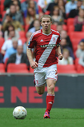 Grant Leadbitter Middlesbrough, Middlesbrough v Norwich, Sky Bet Championship, Play Off Final, Wembley Stadium, Monday  25th May 2015