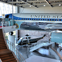 Air Force One Pavilion in Ronald Reagan Presidential Library in Simi Valley, California<br />