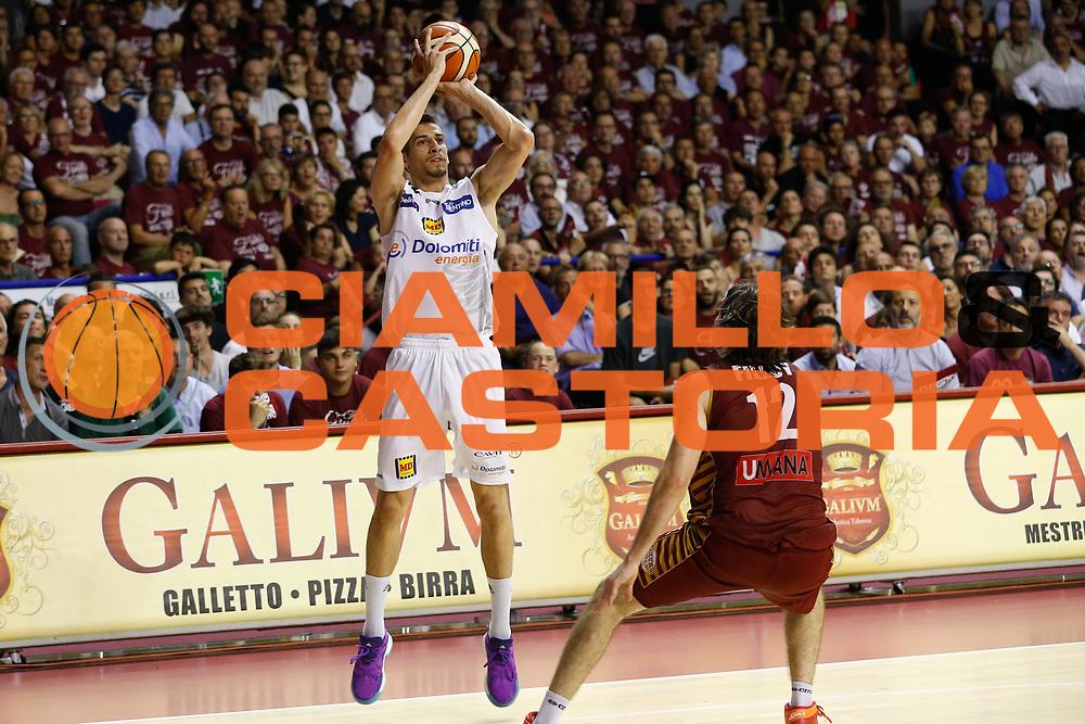 Diego Flaccadori<br /> Umana Reyer Venezia - Dolomiti Energia Aquila Basket Trento<br /> Lega Basket Serie A 2016/17 Finali Gara 02<br /> Venezia, 12/06/2017<br /> Foto Ciamillo-Castoria / M. Brondi