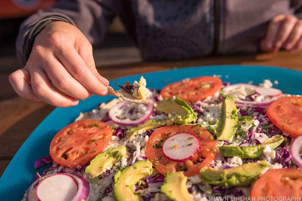 Tiera Del Sol Food cart specializes in Tlayudas, a mexican type pizza.
