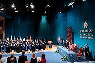 101918 Princesa de Asturias Awards 2018 - Day 2, Ceremony