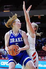 20190106 Drake at Illinois State Women's basketball photos