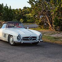 1957 Mercedes-Benz 300SL, 2012 Santa Fe Concorso High Mountain Tour.