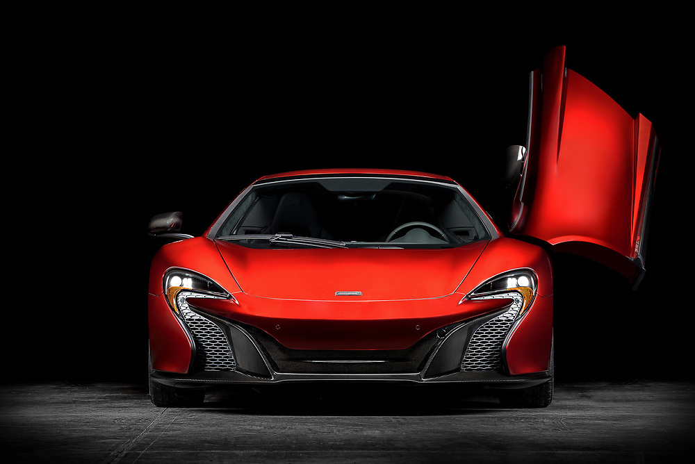 McLaren 650S in the studio. | Simraceway