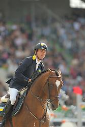 Rivetti, Cassio, Vivant<br /> Normandie - WEG 2014<br /> Springen - Finale IV<br /> © www.sportfotos-lafrentz.de/ Stefan Lafrentz